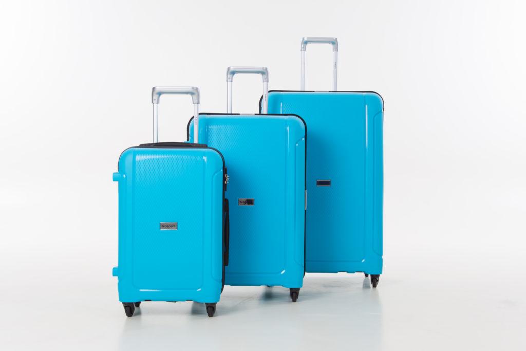 Mooie koffers van Decent verkrijgbaar bij Schoenmakerij Andre
